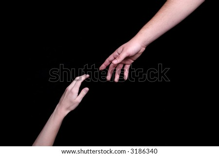 Offer to mentor - stock photo