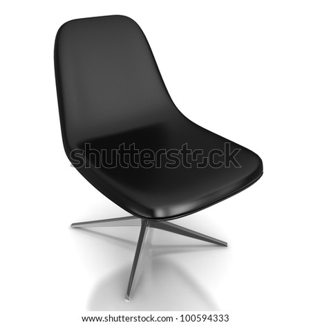 office armchair - stock photo