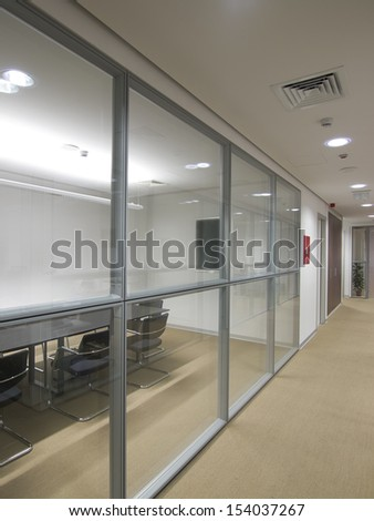 Office building interior - stock photo
