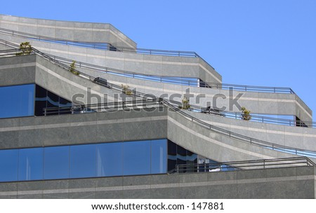 Office building seattle - stock photo
