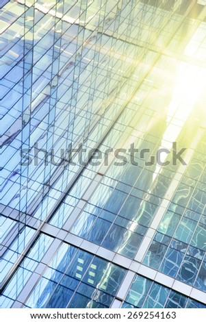 Office buildings - modern architectural and business background - stock photo
