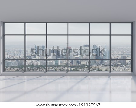 Office city view 2. - stock photo