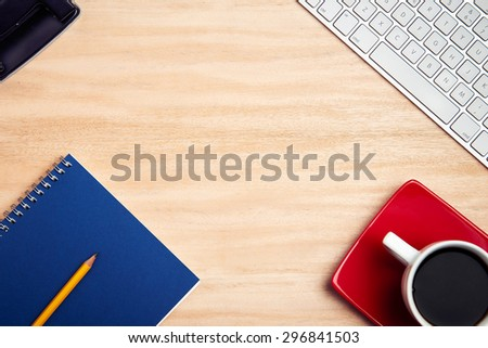 Office concept Still Life - stock photo