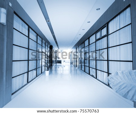 office corrido - stock photo