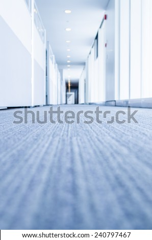 office Corridor - stock photo