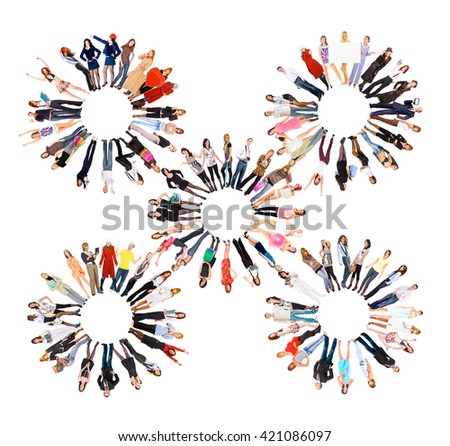 Office Culture People Diversity  - stock photo