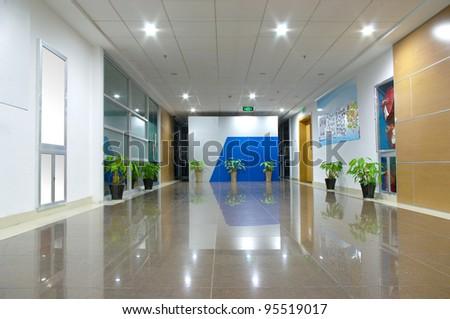 Office entrance - stock photo