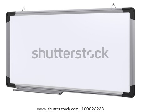Office magnetic board. 3d rendering - stock photo