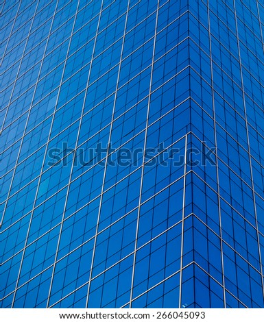 Office modern building - stock photo