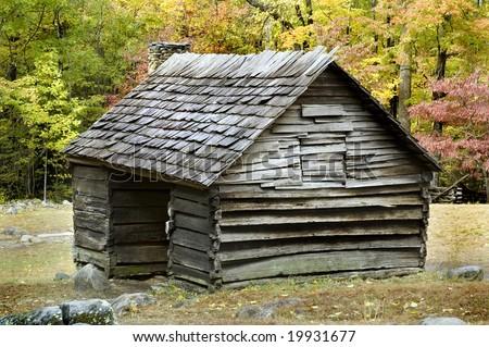 Ogle Farm, Roaring Forks, Gatlinburg, Smoky Mountains National Park - stock photo