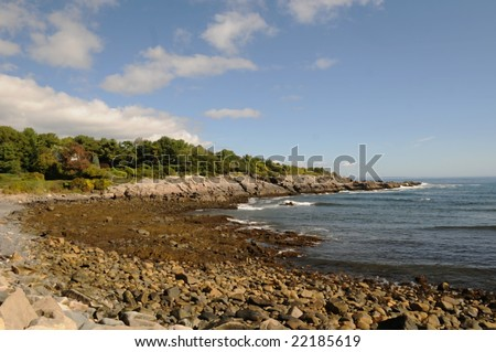 Ogunquit-Maine - stock photo