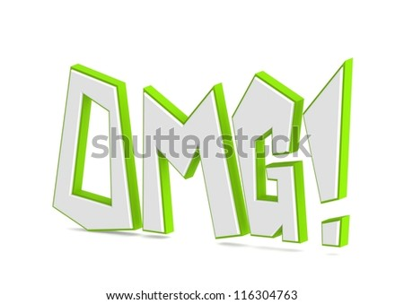 oh my god! - stock photo
