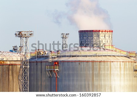 Oil business - stock photo