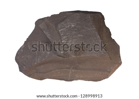 Oil shale - stock photo