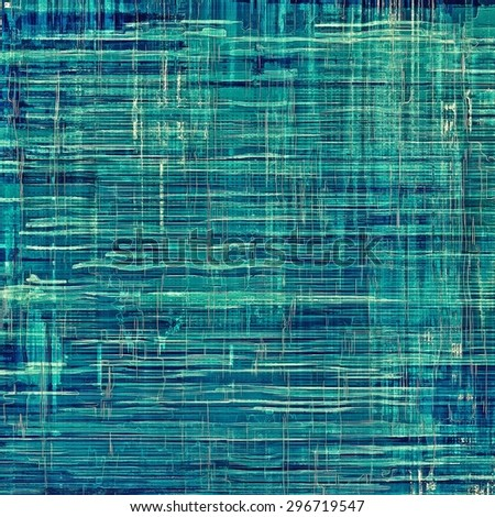 Old abstract grunge background, aged retro texture. With different color patterns: gray; blue; cyan - stock photo