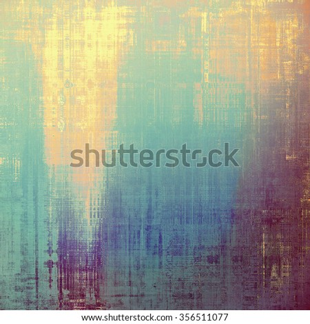 Old abstract grunge background for creative designed textures. With different color patterns: yellow (beige); brown; purple (violet); blue - stock photo