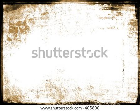 old aged photo border - stock photo