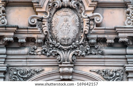 Old and Antique Architecture of Balboa Park, San Diego California USA  - stock photo