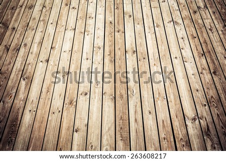Old and grunge wooden board background - stock photo