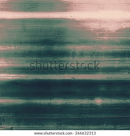 Old and weathered grunge texture. With different color patterns: gray; pink; green - stock photo