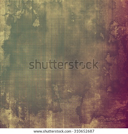 Old antique texture or background. With different color patterns: yellow (beige); brown; gray; purple (violet) - stock photo