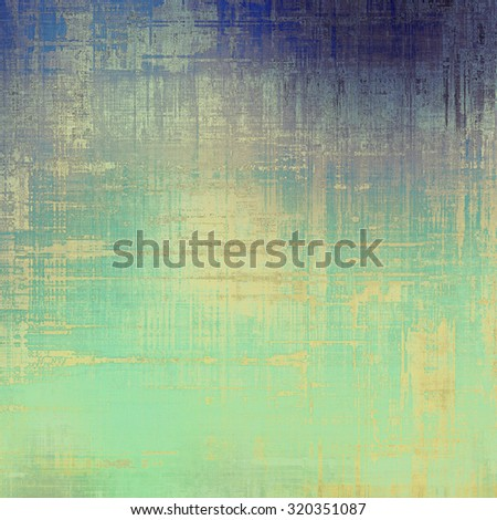 Old antique texture - perfect background with space for your text or image. With different color patterns: yellow (beige); blue; purple (violet); cyan - stock photo