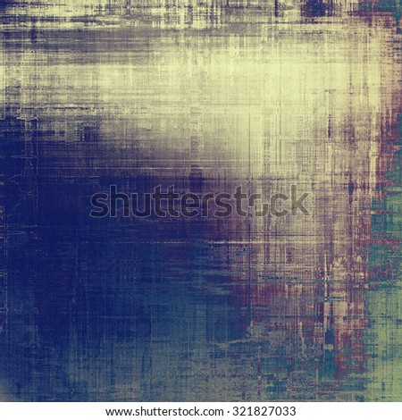 Old antique texture - perfect background with space for your text or image. With different color patterns: yellow (beige); purple (violet); green; blue - stock photo