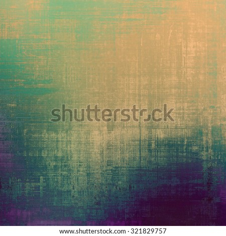 Old antique texture - perfect background with space for your text or image. With different color patterns: brown; purple (violet); green; blue - stock photo