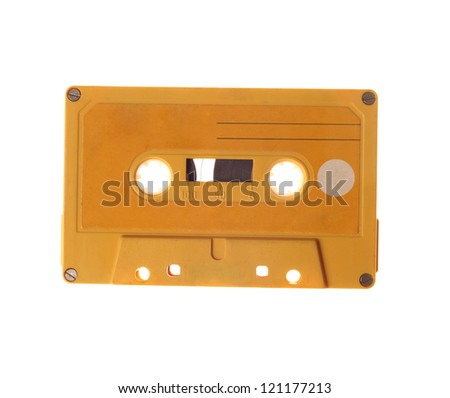 Old Audio Tape - stock photo