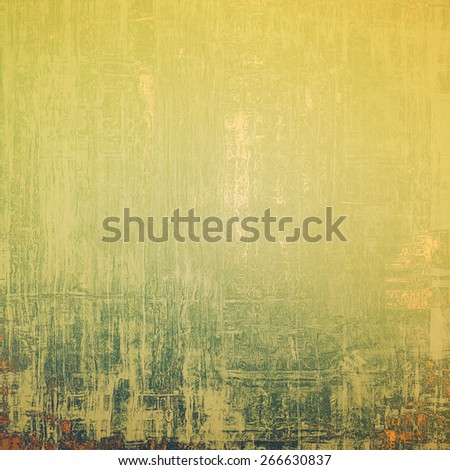 Old background with delicate abstract texture. With different color patterns: yellow (beige); brown; gray - stock photo