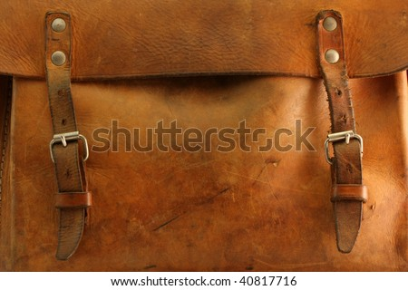 Old bag - stock photo