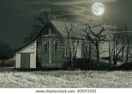 Old Barn - stock photo