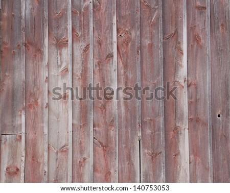 Old Barn Wood - stock photo