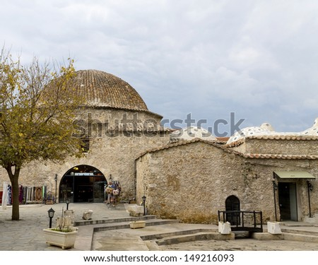 Old Bazaar, Antalya, Turkey. - stock photo