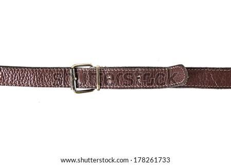 old belt - stock photo