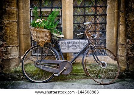 Old Bike - stock photo