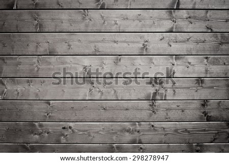 old black wood texture can be used for background - stock photo