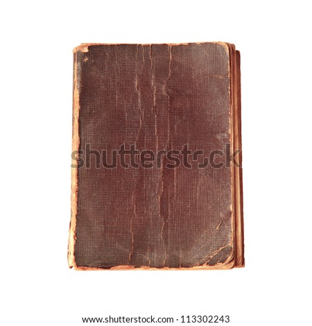 old book cover texture - stock photo