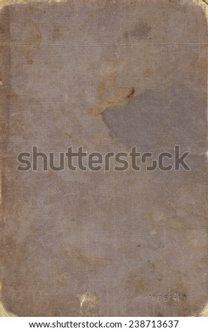 Old book cover, vintage texture - stock photo