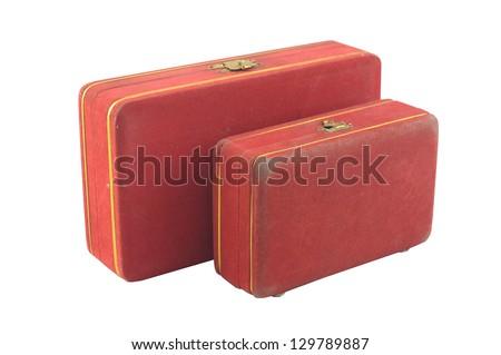 old box vintage - stock photo