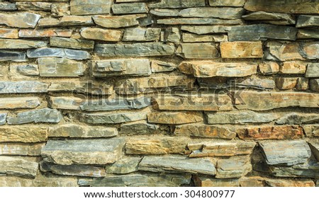 Old brick wall texture and blackground - stock photo