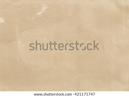 Old brown paper background. Vintage paper - stock photo