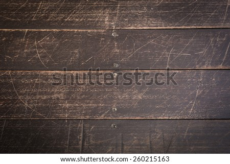 old brown wooden boards texture - stock photo