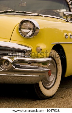 Old Buick Car - stock photo