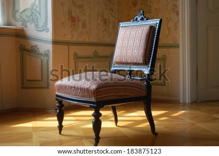Old chair - stock photo