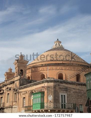 Old Church - stock photo
