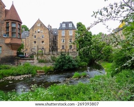 Old city, Edinburgh, Scotland, UK - stock photo