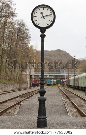 Station Clock Stock Photos Images Amp Pictures Shutterstock