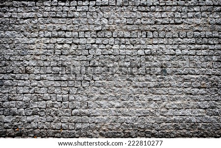 Old Cobblestone Nice Background Stock Photo