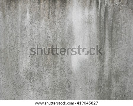 old concrete dirty wall with a mold background - stock photo